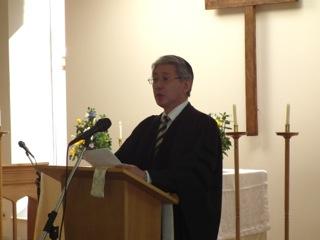 2010年度入学始業礼拝校長祝辞