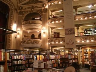 アルゼンチンからお届け!「世界で3番目に美しい本屋さん」