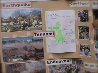 大震災「いつもは全く意識していなかった日本人の心の温かさを感じました。」
