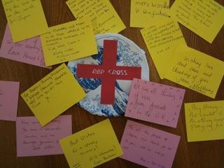 イギリス人から被災者の方々へのメッセージ。H2英語演習でその和訳に挑戦しました。