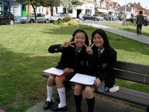 中1/中2 クランレーの町で校外学習 第1回、2回の様子を写真でご紹介。