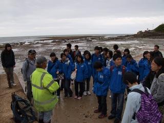 小・中学生1学期アウティングーLyme Regisー数億年前へタイムスリップ、アンモナイトと過ごした1日。
