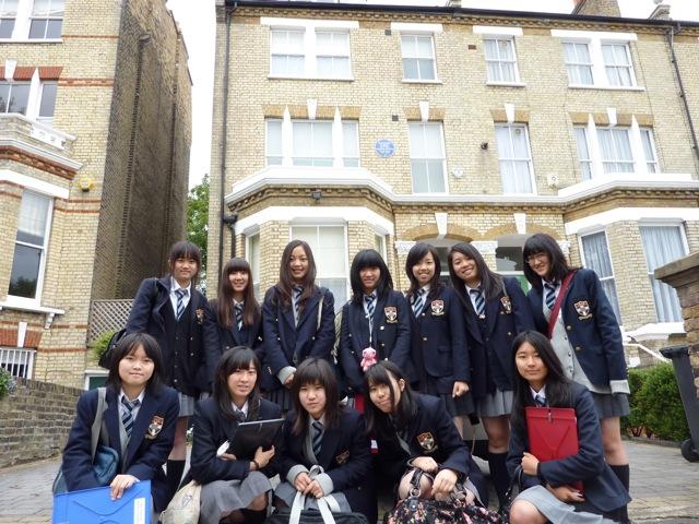 高校2年生アウティング ~夏目漱石の足跡をたずねて~