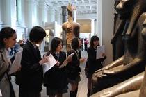 大英博物館とUCLで貴重な知的体験。高校1年生のアウティング写真です。