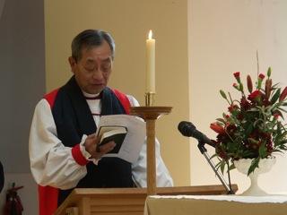 長い夏休みを前に本校チャプレン高野主教から貴重なお話をして頂いた平成23年度第1学期終業礼拝式。