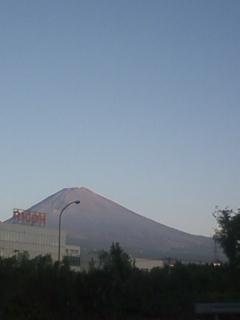 初めて日本一高い山に登りました!