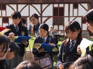小学校6年生/中学校1年生 社会科英語科合同フィールドワーク
