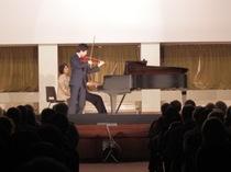 世界的なバイオリニスト川畠成道氏が今年も立教を訪問して下さいました!