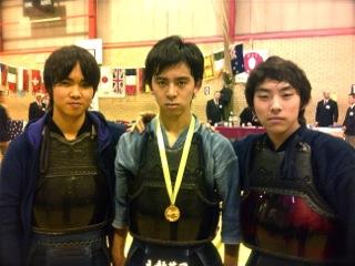 立教英国学院の剣士、「2011 Mumeishi Taikai Juniors 15-17 Years」で優勝!!