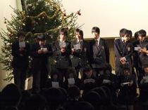 高校3年生を送る生徒会主催クリスマスコンサート
