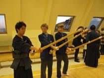 100名以上のイギリス人が来校。日本文化を紹介した Japanese Evening。