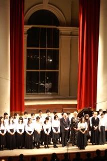 音楽を人に伝えられる演奏のできる立教演奏者たちのコンサート