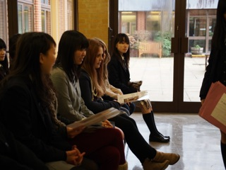 The short-time exchange with Millais school(中学3年生英語手記)