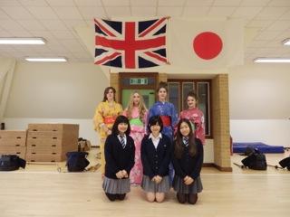 短期交換留学:ミレースクールの生徒たちが本校に1週間滞在しました。