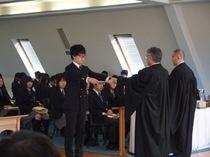 卒業終業礼拝:高校3年生が旅立って行った日の記録