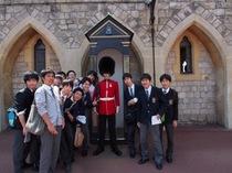 高等部1・2年生 ロンドンアウティングの様子を写真で。