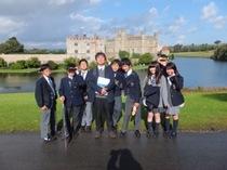 小中学部アウティング:リーズ城訪問を写真でご覧ください。