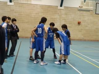 男子バスケットボール部対外試合 〜新チームでの初勝利 75対37〜