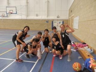 女子バスケットボール部対外試合 〜新チームで初めての試合〜