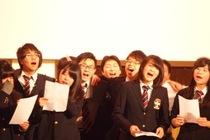 後輩たちから高校3年生へ、クリスマスコンサートの様子を写真でお伝えします