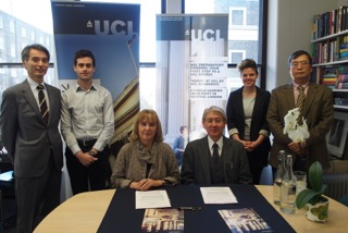 UCLロンドン大学と進学協定を締結しました。