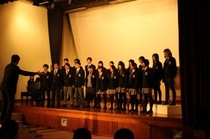 生徒会主催 「合唱コンクール」は今年も盛り上がりました。