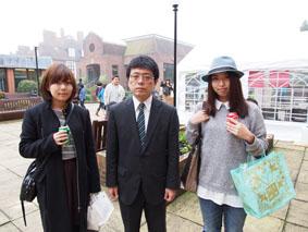 37期生 東山さん、長谷川さん 〈11月1日来校〉