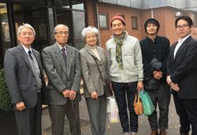 20期生 鈴木さん 21期生 中野さん 22期生 土家さん〈11月1日来校〉