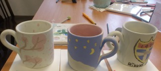 〈社会科〉2015年度 3学期の小学生フィールドワーク「Painting a Mugcup!!!」