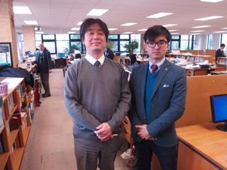 33期生 柴田さん〈3月5日来校〉
