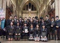 ロンドンで行われた東日本大震災追悼礼拝の様子を写真で。