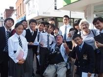 今学期最初の中学生英語科フィールドワーク at Godalming
