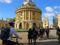 高2アウティング。オックスフォード大学訪問。