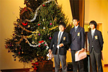 クリスマスコンサート&高校3年生を送る会