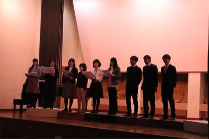 生徒会主催 合唱コンクール