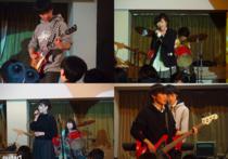 軽音楽部コンサート:熱気溢れるステージ!