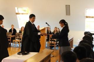 2017年度入学始業礼拝が行われました