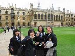 高校1年生アウティング:ケンブリッジに行ってきました。