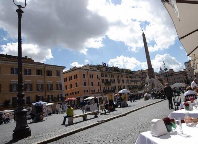ローマの春休み