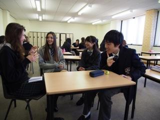 交換留学:地元ミレースクールの生徒が本校に1週間滞在。日本文化を堪能しました。