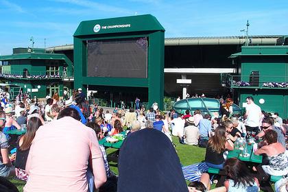 6月 Wimbledonテニス観戦