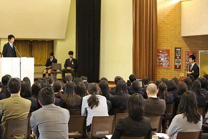 2月 生徒会役員選挙