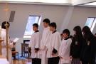 2018年度3学期始業礼拝を執り行いました。