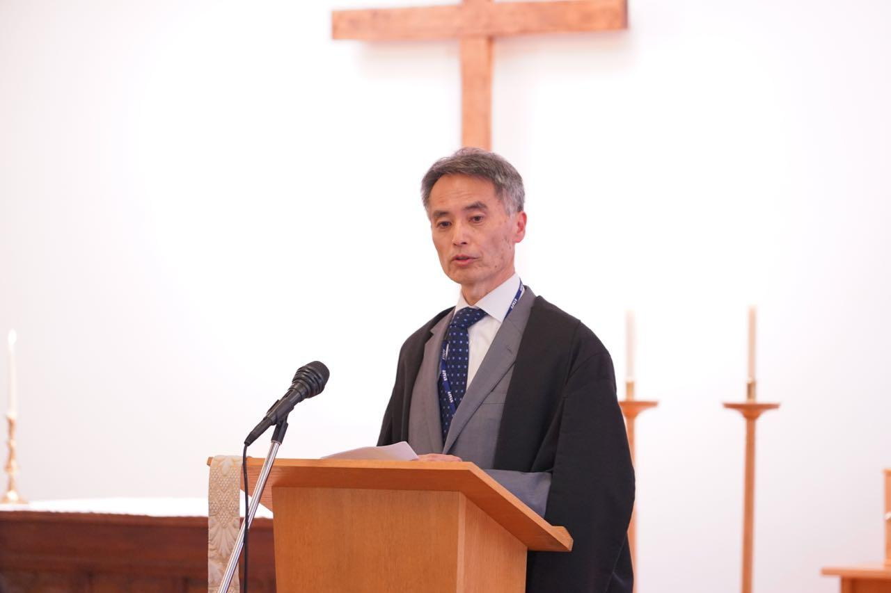 2019年度入学始業礼拝を執り行いました。