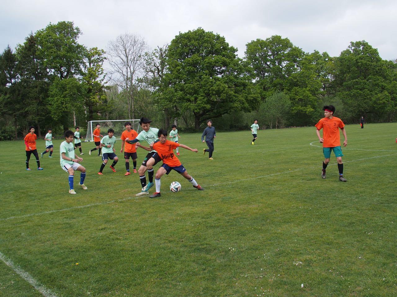 2週間の練習の成果! 土曜日に球技大会が行われました。