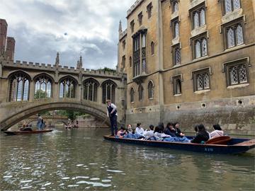 ケンブリッジ研修 生徒手記 「様々な面からケンブリッジ大学を体験」