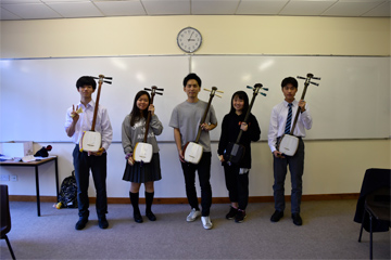 一川響さんによる津軽三味線ワークショップ  「体験記」〈第4弾〉