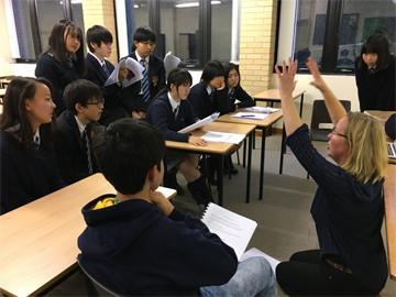 現地校(RGS)との合同演劇プロジェクトが始まりました。