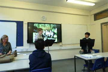 Royal Grammar School との合同演劇企画「From Alice to アリス」がRGSで始まりました。