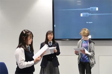 Royal Grammar School との合同演劇企画「From Alice to アリス」パート2